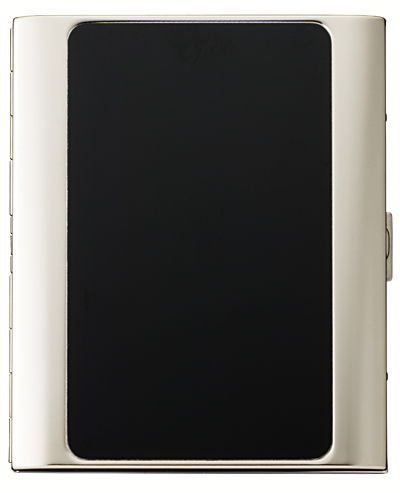 PEARL ブラックパネル パリス10(100mm) シガレットケース 日本製