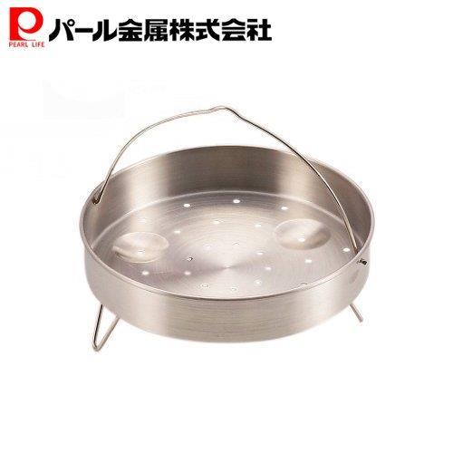 小籠包や焼売などの蒸し料理に 圧力鍋用 蒸し目皿 H-5036 20cm用 別倉庫からの配送 パール金属 市販