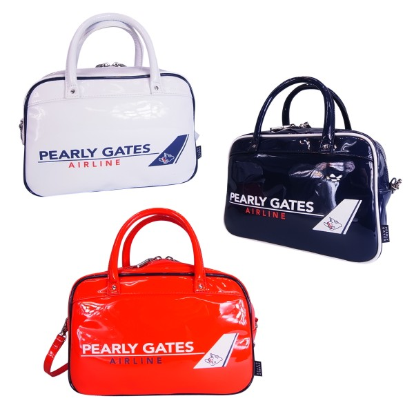 【NEW】PEARLY GATES パーリーゲイツAIRLINE ミニボストン型カートバッグ 8181315/18A