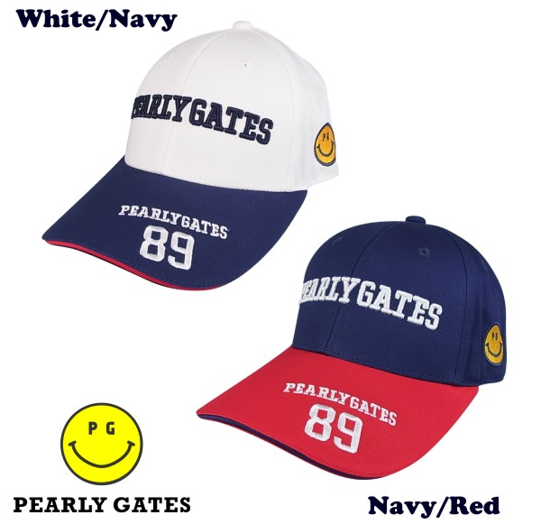 【PREMIUM SALE】PEARLY GATES CLUB SMILY 89 パーリーゲイツ・クラブスマイリー89限定ツアーキャップ053-9187473【PXG】