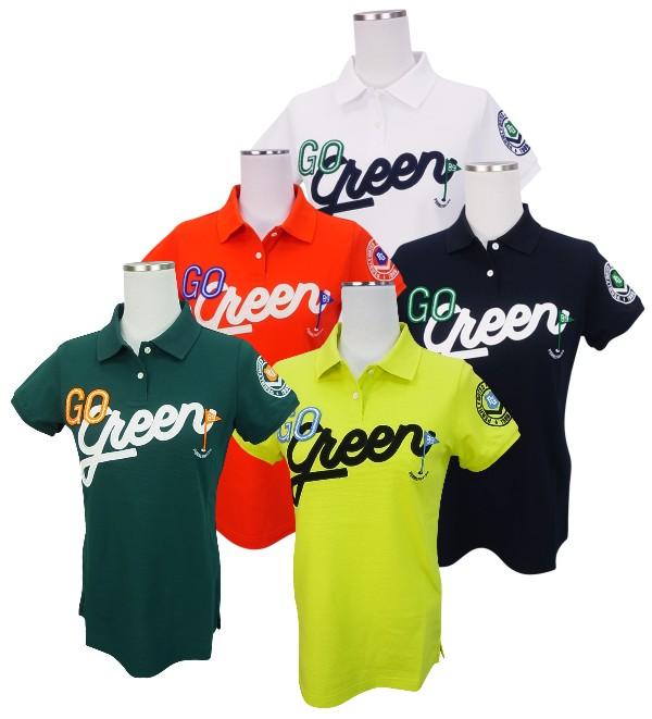 【新作からSALEアイテム等お得な商品満載】 【SALE 8160512/18B【GO】PEARLY GATES GO パーリーゲイツレディース GO GREEN】 Green!サラクール タックカノコ半袖ポロシャツ =JAPAN MADE= 8160512/18B【GO GREEN】, シモゴウマチ:7ecfdb1e --- blablagames.net