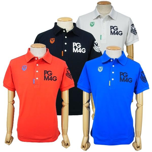 【NEW】PEARLY GATES パーリーゲイツPGM4G 定番系メンズカノコ半袖ポロシャツ =JAPAN MADE=053-0160205/20AF