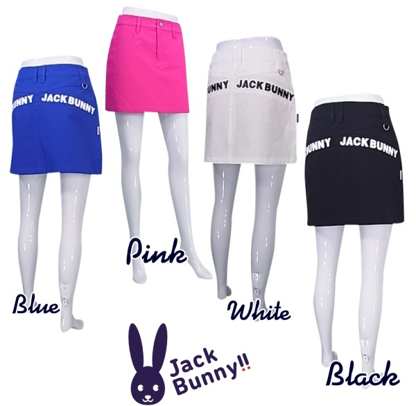 NEW Jack Bunny by PEARLY 21C 今だけスーパーセール限定 レディーススカート263-1234808 バックロゴライン2WAYストレッチ 注文後の変更キャンセル返品 GATESジャックバニー