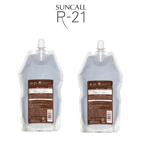 【送料無料】 サンコール R-21 スキャルプサプリ HE 400ml 詰替え用レフィル×2コセット