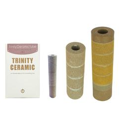 【送料無料】トリニティーセラミックチューブ Lサイズ 長さ 約240mm×直径68mm(内径30mm)