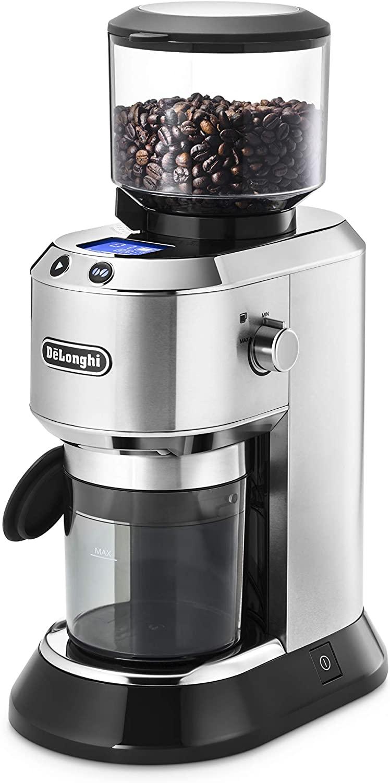 代理店 「ラッキーコーヒーマシン株式会社」より直送させていただきますので代引き不可です。 デロンギ デディカ コーン式コーヒーグラインダー [KG521J-M]