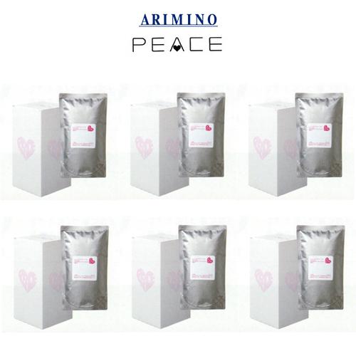 アリミノ ピース グロスミルク 詰め替え用レフィル200ml×3袋入り 【6箱セット】 【送料無料】