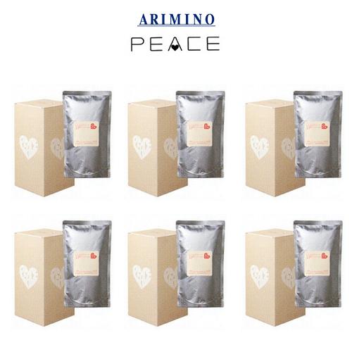 アリミノ ピース モイストミルク 詰め替え用 レフィル200ml×3袋入り 【6箱セット】 【送料無料】