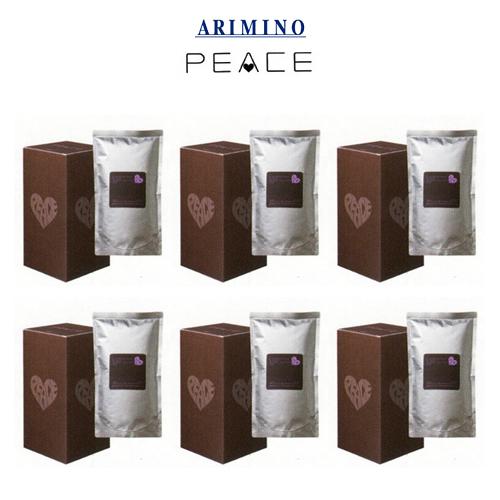 アリミノ ピース カールミルク 詰め替え用 リフィル200ml×3袋入り 【6箱セット】 【送料無料】