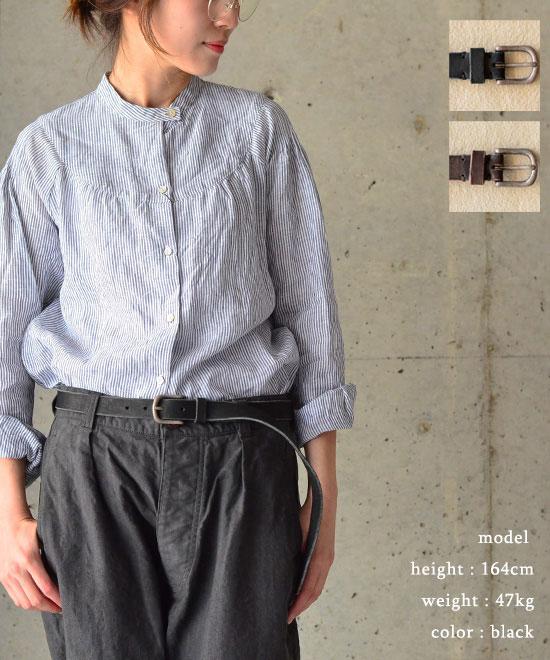 Broe&Co ブロー&コーOLD NICKEL LONG LENGTH BELT(全2色)【送料無料】【あす楽対応】NBC1051N
