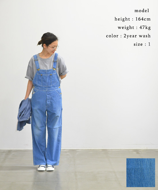 or slow オアスローWOMEN'S FIT 50'S OVERALL【送料無料】【あす楽対応】00-9003