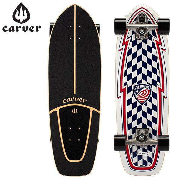 【お盆もあす楽】 最大1000円OFFクーポン カーバー スケートボード Carver Skateboards スケボー C7 コンプリート 30.75インチ 2020 USA ブースター 2020 USA Booster C1013011069