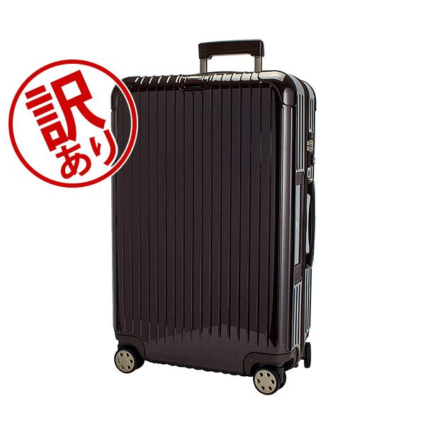 【5%OFFクーポン】【訳あり】 RIMOWA リモワ 【4輪】 サルサ デラックス 78L 831.70.52.5 スーツケース マルチ 【Salsa Deluxe】 Multiwheel ブラウン 【E-Tag】 電子タグ