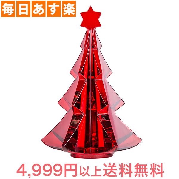 バカラ Baccarat クリスマスオーナメント ノエル メリベル ツリー レッド 置物 インテリア 2811542 Noel Tree [4,999円以上送料無料]