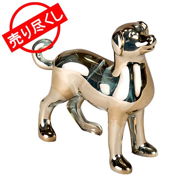 赤字売切り価格バカラ Baccarat 置物 オーナメント 干支 オブジェ 戌 ゴールド 犬 インテリア 2811251 Zodiaque Dog [4,999円以上送料無料]