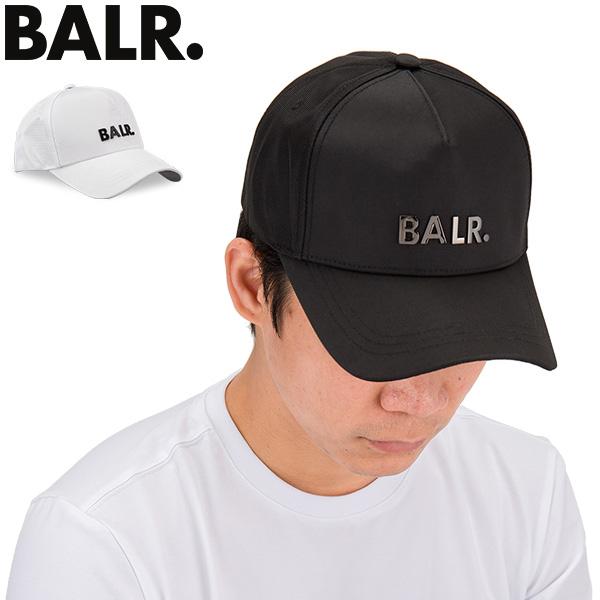 ボーラー ベースボールキャップ クラシック オックスフォード キャップ メタルロゴ スナップバック おしゃれ シンプル モダン 男女兼用 セール 未使用品 野球帽 BALR 白 ブランド B10014 メンズ Classic Cap ブラック 黒 ホワイト Oxford ロゴメタルパーツ 帽子