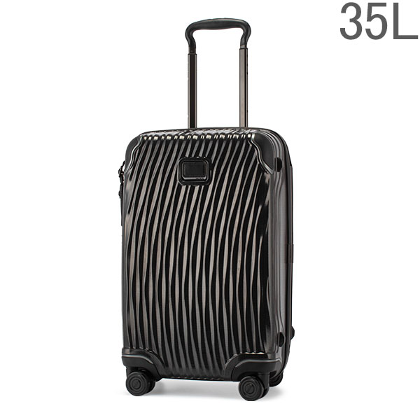【GWもあす楽】 最大1000円OFFクーポン トゥミ TUMI スーツケース 35L ラティチュード インターナショナル 0287660D/98560-1041 ブラック LATITUDE Black 4輪 機内持ち込み