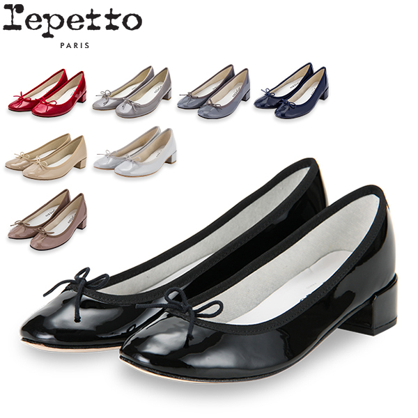 【お盆もあす楽】 最大1000円OFFクーポン レペット Repetto バレエシューズ カミーユ V511V MYTHIQUE FEMME CAMILLE レディース パンプス 革靴 エナメル ローヒール かわいい あす楽