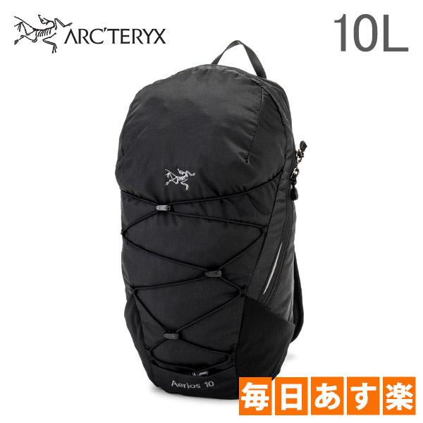 アークテリクス Arc'teryx リュック エアリオス 10 バックパック トレイル コンパクト 10L Raven 7347 Aerios 10 Backpack メンズ レディース アウトドア [4,999円以上送料無料]