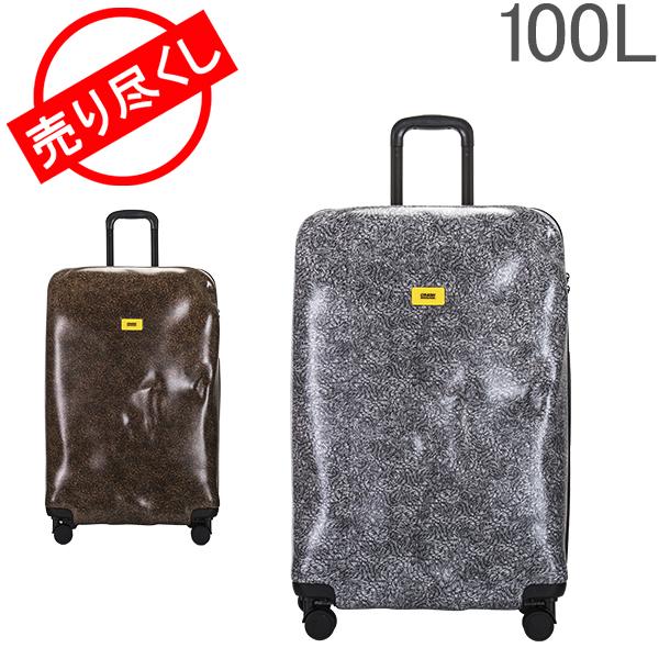 【GWもあす楽】 最大1000円OFFクーポン 売り尽くし クラッシュバゲージ Crash Baggage スーツケース 100L サーフェース Lサイズ 大型 大容量 CB123 Surface キャリーバッグ キャリーケース クラッシュバゲッジ あす楽