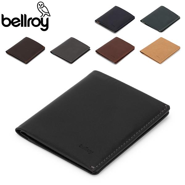 【GWもあす楽】 最大1000円OFFクーポン ベルロイ Bellroy 二つ折り財布 ノートスリーブ ウォレット Note Sleeve RFID 301 レザー メンズ 財布 スリム カード 小銭入れ あす楽