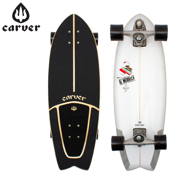 【お盆もあす楽】 最大1000円OFFクーポン カーバースケートボード Carver Skateboards C7 コンプリート 29.25インチ ポットモッド チャンネルアイランド C1013011026 スケボー あす楽