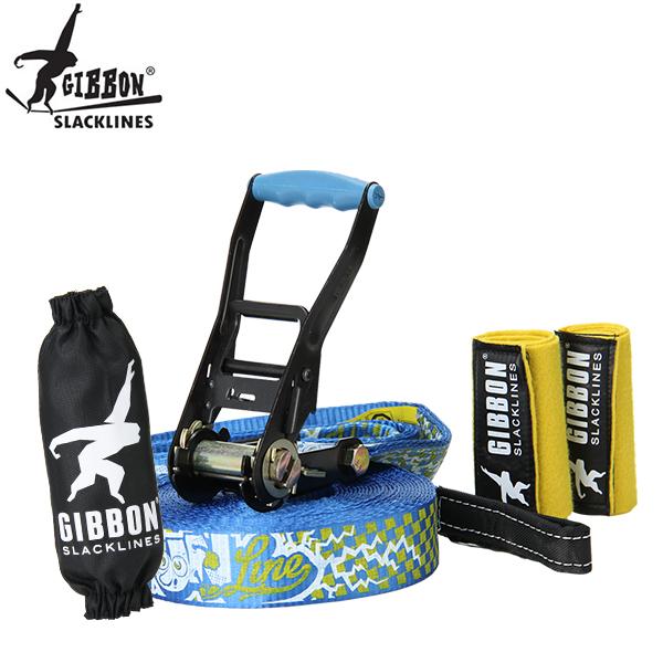 最大1000円OFFクーポン Gibbon ギボン FUN LINE X13 TREE PRO SET ファンライン×13 ツリープロセット Blue ブルー 13881 スラックライン あす楽