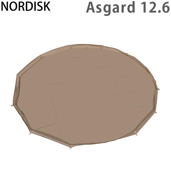 まとめ買いクーポン配布中 NORDISK ノルディスク Zip-In-Floor (ZIF) フロアシート(ジップインフロア) Asgard 12.6 アスガルド12.6 ONE 146017 テント 2014年モデル 北欧 [4999円以上送料無料] あす楽