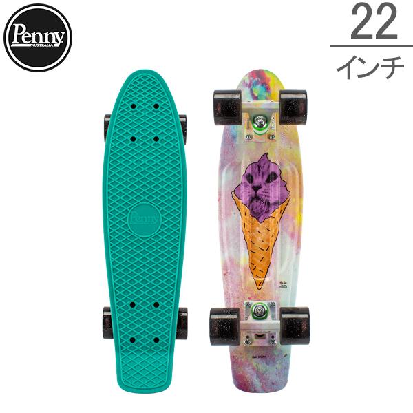 最大1400円クーポン ペニー スケートボード Penny Skateboards スケボー 22インチ Graphics シリーズ PNYCOMP22433 Kitty Cone ミニクルーザー コンプリート おしゃれ