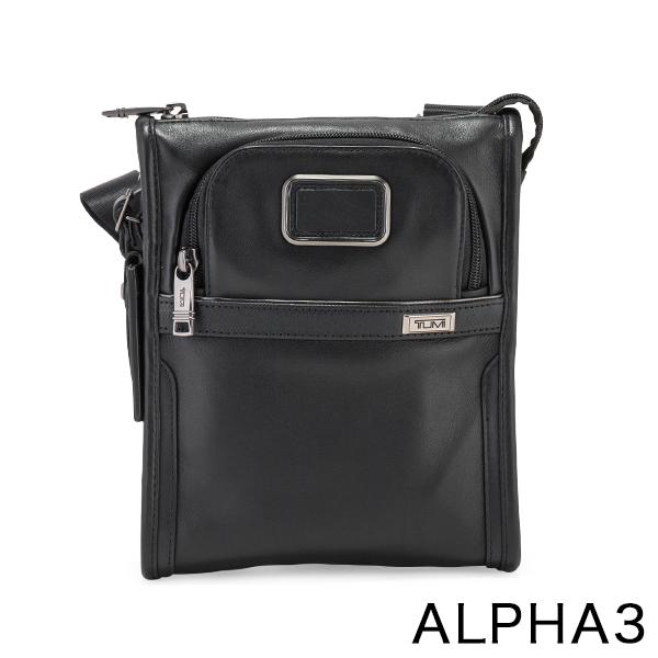 【GWもあす楽】 最大1000円OFFクーポン トゥミ TUMI ショルダーバッグ ALPHA 3 ポケット バッグ スモール レザー アルファ 3 Pocket Bag Small Leather 1173221041 ブラック Black あす楽