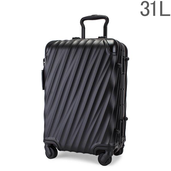 【GWもあす楽】 最大1000円OFFクーポン トゥミ TUMI スーツケース 31L 4輪 19 Degree Aluminum インターナショナル・キャリーオン 036860MD2 マットブラック キャリーケース キャリーバッグ あす楽