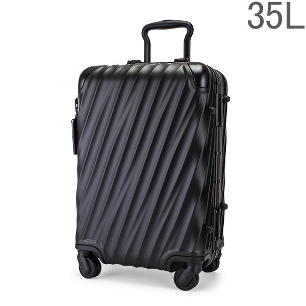 【GWもあす楽】 最大1000円OFFクーポン トゥミ TUMI スーツケース 35L 4輪 19 Degree Aluminum コンチネンタル・キャリーオン 036861MD2 マットブラック キャリーケース キャリーバッグ あす楽