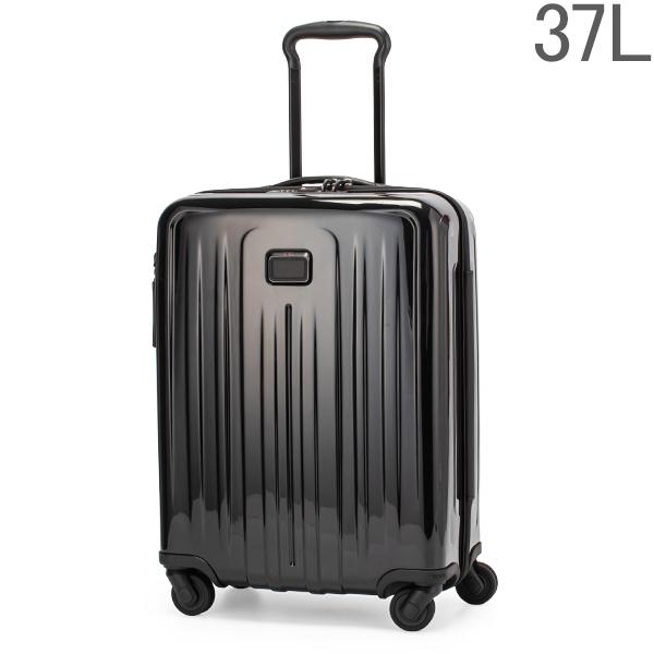 【GWもあす楽】 最大1000円OFFクーポン トゥミ TUMI スーツケース 37L 4輪 機内持ち込み インターナショナル スリム 4ウィール キャリーオン 022804007D4 / 124854-1041 ブラック あす楽