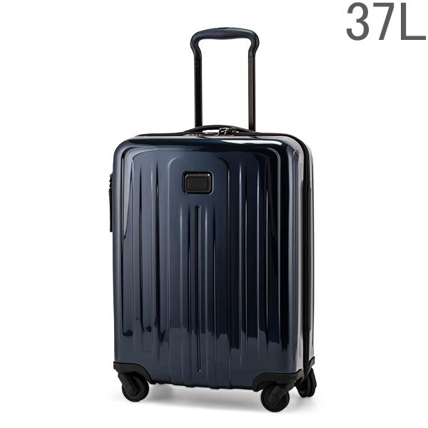 【GWもあす楽】 最大1000円OFFクーポン トゥミ TUMI スーツケース 37L 4輪 機内持ち込み インターナショナル スリム 4ウィールキャリーオン 124854-T176 エクリプスブルー TUMI V4 あす楽