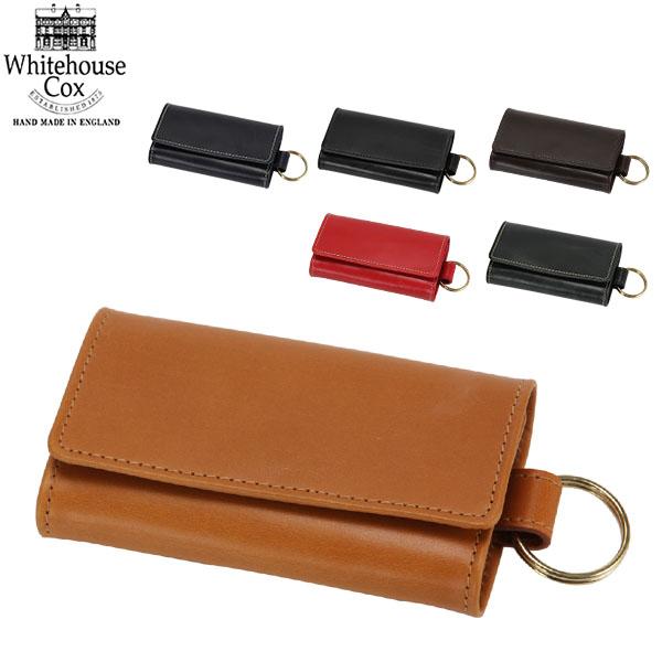 【GWもあす楽】 最大1000円OFFクーポン Whitehouse Cox ホワイトハウスコックス Keycase Size CLOSE 6.5 × 11.5cm OPEN 19.5 × 11.5cm S9692 キーケース あす楽