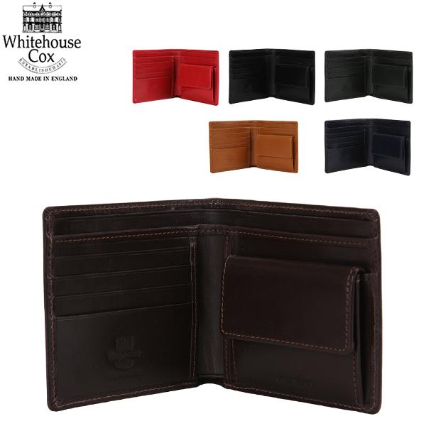 【GWもあす楽】 最大1000円OFFクーポン Whitehouse Cox ホワイトハウスコックス Wallet Coin Purse CLOSE 10cm × 11cm OPEN 10cm × 22.5cm S7532 財布 あす楽