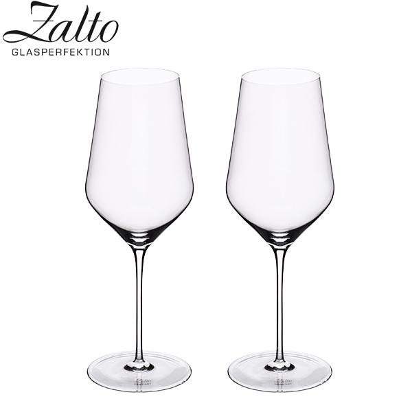 【GWもあす楽】 最大1000円OFFクーポン ザルト Zalto ワイングラス 2脚セット ハンドメイド ホワイトワイン 11 402 Zalto DENK'ART Whitewine Clear ペアグラス おしゃれ プレゼント ギフト 贈り物 あす楽