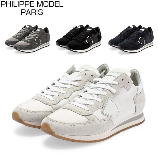 【お盆もあす楽】 最大1000円OFFクーポン フィリップモデル パリ Philippe Model Paris スニーカー 靴 トロペ TRLU TROPEZ LOW UOMO VEAU シューズ メンズ カジュアル おしゃれ あす楽