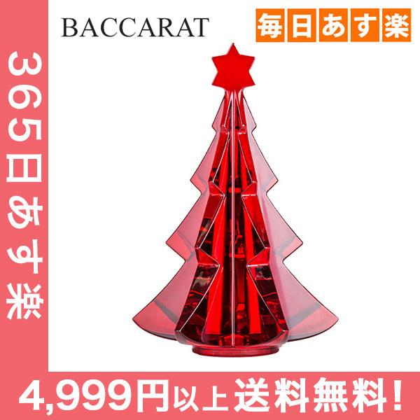 バカラ Baccarat クリスマスオーナメント ノエル メリベル ツリー レッド 置物 インテリア 2811542 Noel Tree [4,999円以上送料無料] 新生活