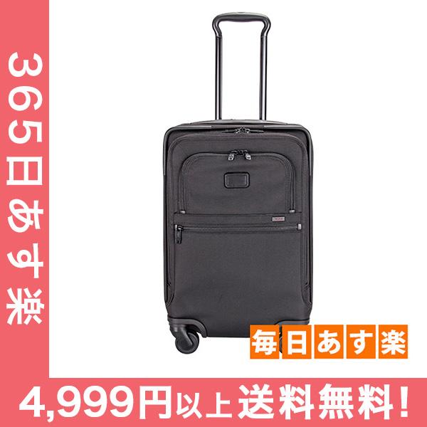 TUMI トゥミ スーツケース 4ウィール インターナショナル オフィス キャリーオン ビジネス メンズ 出張 ブラック 022616D2 Alpha Ballistic Travel/LTWT (Alpha 2 ) 4 Wheel International Office Carry-On [4999円以上送料無料]