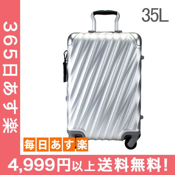 トゥミ TUMI スーツケース 35L 4輪 19 Degree Aluminum コンチネンタル・キャリーオン 036861SLV2 シルバー キャリーケース キャリーバッグ [4999円以上送料無料]