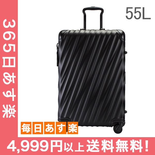 トゥミ TUMI スーツケース 55L 4輪 19 Degree Aluminum ショート・トリップ・パッキングケース 036864MD2 マットブラック キャリーケース キャリーバッグ [4999円以上送料無料]