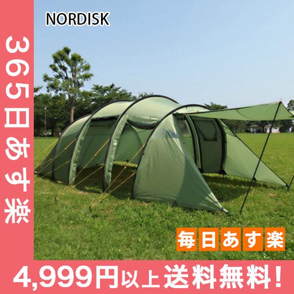 【全品5%OFFクーポン】 ノルディスク レイサ6 テント 6人用 タープ アウトドア キャンプ ダスティーグリーン 122032 NORDISK Leisure Tents & Tarps Reisa 6 [4999円以上送料無料]