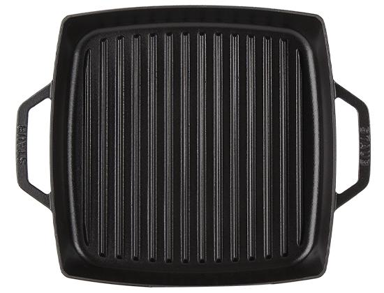 ストウブ Staub グリルパン 28cm ピュアグリル スクエア 120128/40511-68 Pure Grill Square ステーキ バーベキュー BBQ 焼肉 鉄板 [4999円以上] 新生活