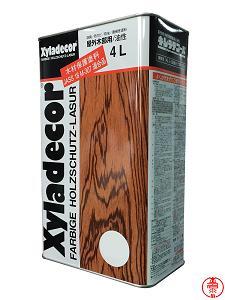 発売以来40年の実績を持つ木材保護塗料の定番ブランド 多くの採用実績が高い防腐 防カビ 防虫効果を証明しています キシラデコール 35%OFF 大坂ガスケミカル 屋外木部用 4L オリジナル 各色 油性