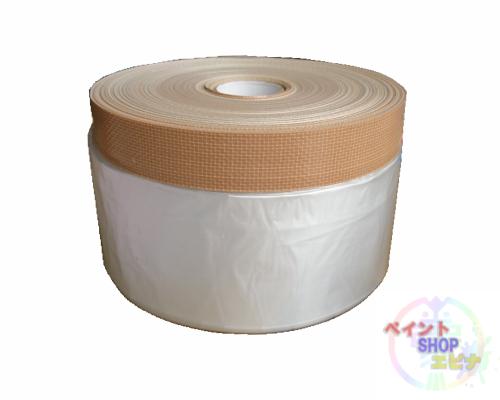 【送料無料】布コロナマスカー 茶 1100mm×25m 1箱(60巻入り) 好川産業
