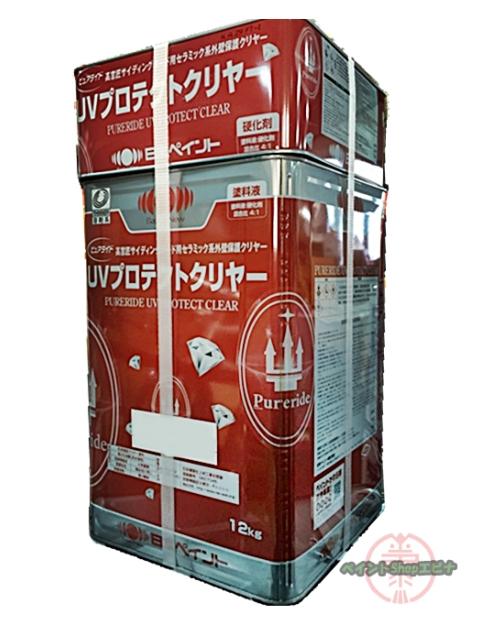 【送料無料】ピュアライドUVプロテクトクリヤー つや有 15kgセット(約57平米 塗装可能)日本ペイント