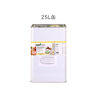 【送料無料】オスモカラー #3101 ノーマルクリアー 3分つや有り 25L 屋内木部用 自然塗料