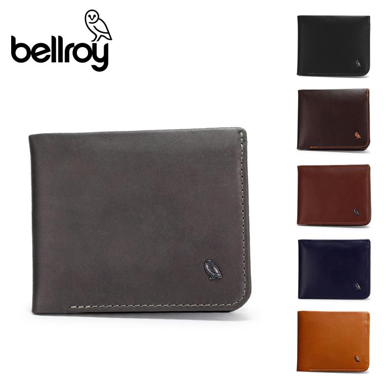 【正規販売】本革 財布 ベルロイ Bellroy ハイド&シーク BRWHSE 極薄財布 スリム財布 コンパクト財布 カードケース