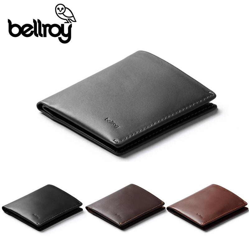 【正規販売】本革 財布 ベルロイ Bellroy ノートスリーブ BRWNSC RFID 極薄財布 スリム財布 コンパクト財布 カードケース